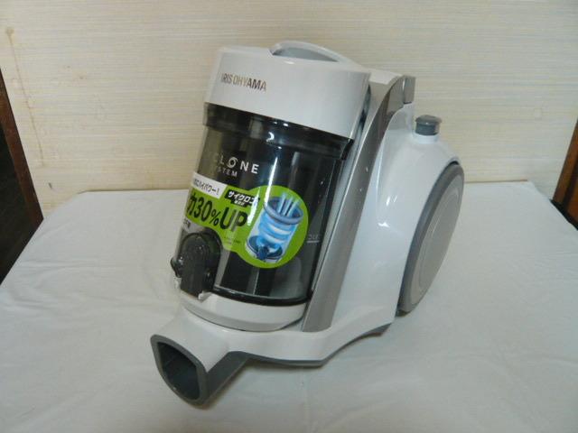** アイリスオーヤマ サイクロン掃除機 IC-C100-W 美品 2018年製 **_画像2