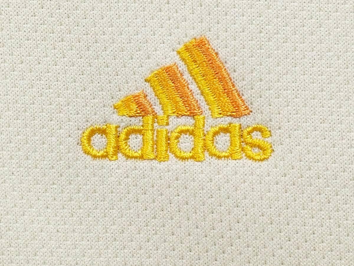 アディダス adidas ジャージ 上 ロゴ刺繍 クライマライト CLIMALITE 3本ライン Lサイズ ジャケット トレーニング ウエア