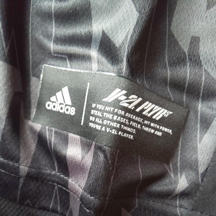 【ブラック・O】adidas アディダス 5T 2nd ユニフォーム 半袖 Tシャツ Impact C メンズ 送料210円 野球 部活 ベースボールウェア_画像5