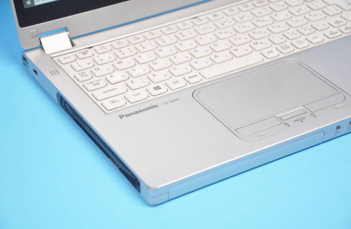 ♪ 良品 使用時間2000H ♪ フルHD タッチパネル Panasonic CF-MX4 Corei3 5010U / メモリ 4GB / SSD128GB / カメラ / Office2016 / Win10_画像5