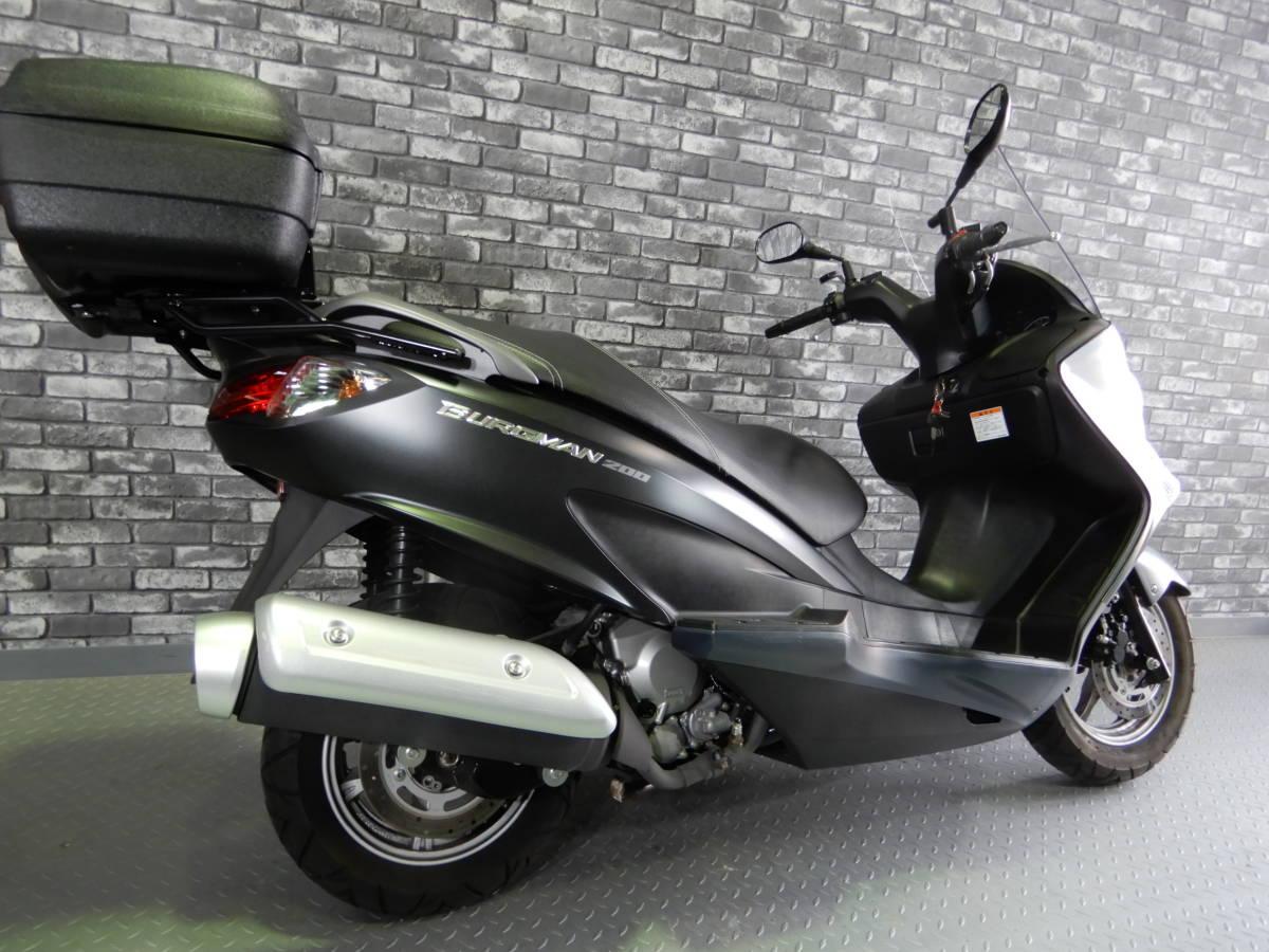 「☆バーグマン200 大阪から 走行3906km ETC リアBOX 動画有」の画像2