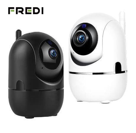 【送料無料】FREDI 1080 720p クラウド IP カメラホームセキュリティ監視カメラ自動追尾ネットワーク WiFi カメラワイヤレス