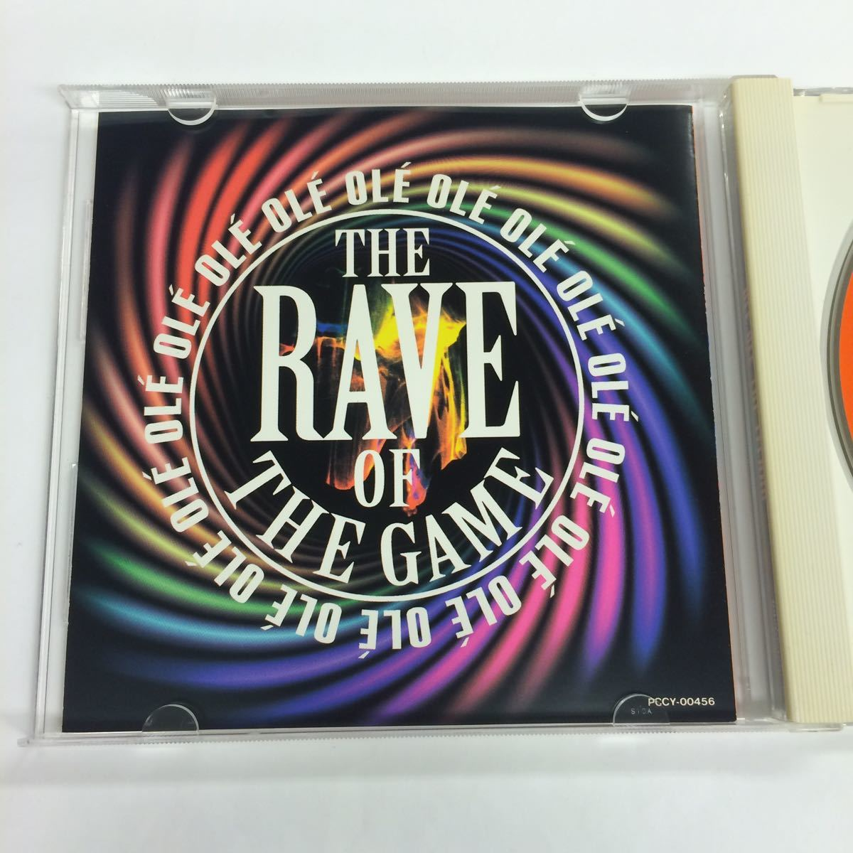 #LOVE DECADE, THE HOUSE GABBERS/オレ!オレ!ザ テクノ, OLE OLE-The Rave Of The Game/WE ARE THE CHAMP/帯付き CD_画像4