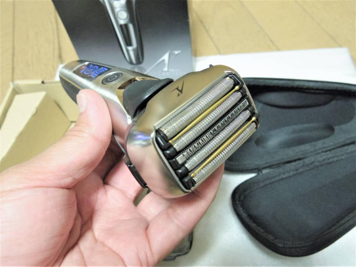 ■■メーカー保証付き 未使用展示品 5枚刃 パナソニック ラムダッシュ ES-CLV8B■■_画像5
