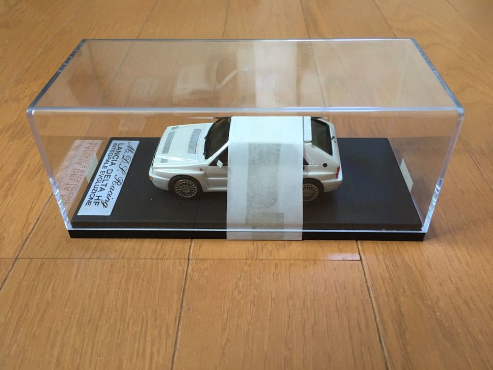 Out Of Print  Mds Made By Racing Weiß Metal Handmade 1 43 Models Lancia