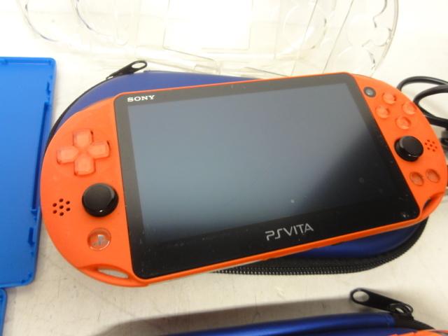 SONY ソニー PlayStation Vita 16GBメモリー付 2台セット 初期化済 中古品_画像2