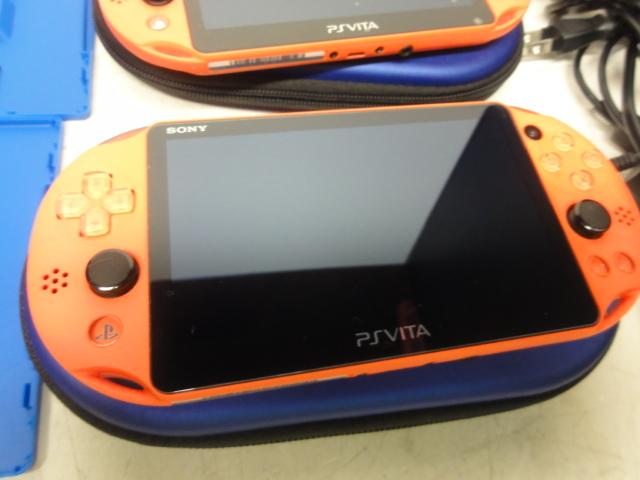 SONY ソニー PlayStation Vita 16GBメモリー付 2台セット 初期化済 中古品_画像3