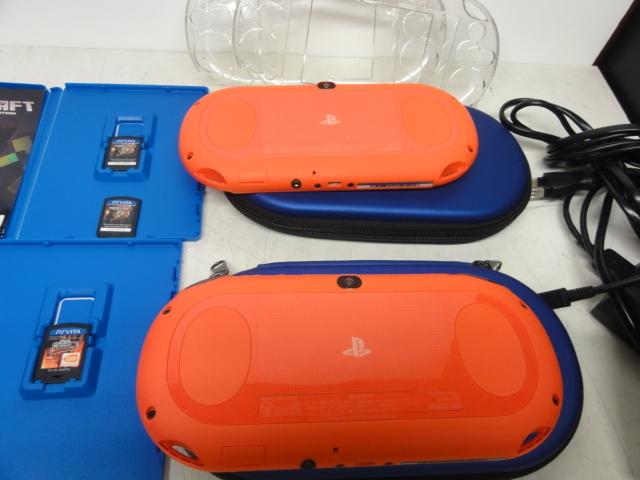 SONY ソニー PlayStation Vita 16GBメモリー付 2台セット 初期化済 中古品_画像4
