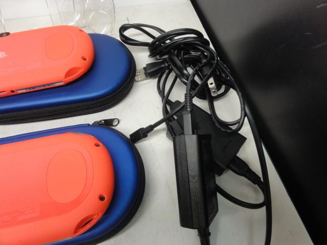 SONY ソニー PlayStation Vita 16GBメモリー付 2台セット 初期化済 中古品_画像7