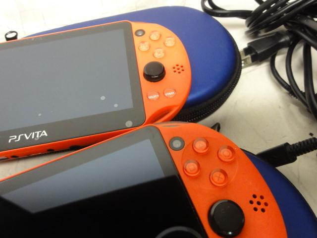 SONY ソニー PlayStation Vita 16GBメモリー付 2台セット 初期化済 中古品_画像9
