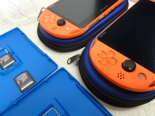 SONY ソニー PlayStation Vita 16GBメモリー付 2台セット 初期化済 中古品_画像10
