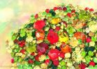 new_ayamurasaki - Ct28★2018夏新作★紅葉500粒★もみじ赤緑黄色スワロ風*アクセサリーハンドメイド埋め込みチャトンVカット素材ジェルラインストーン石