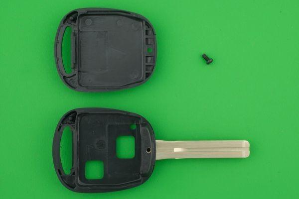 高品質★SILCA社(シリカ)OEM製 トヨタ&レクサス・2ボタン・TOY48タイプ★★キーレスリモコン補修交換用素材_画像3