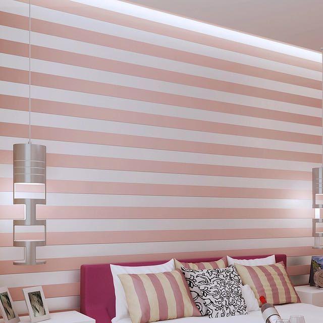 モダンなスタイルグリッターシルバーストライプ不織布壁紙壁装材リビングベッドルーム壁の装飾 Papel デ Parede ベージュ白_画像5