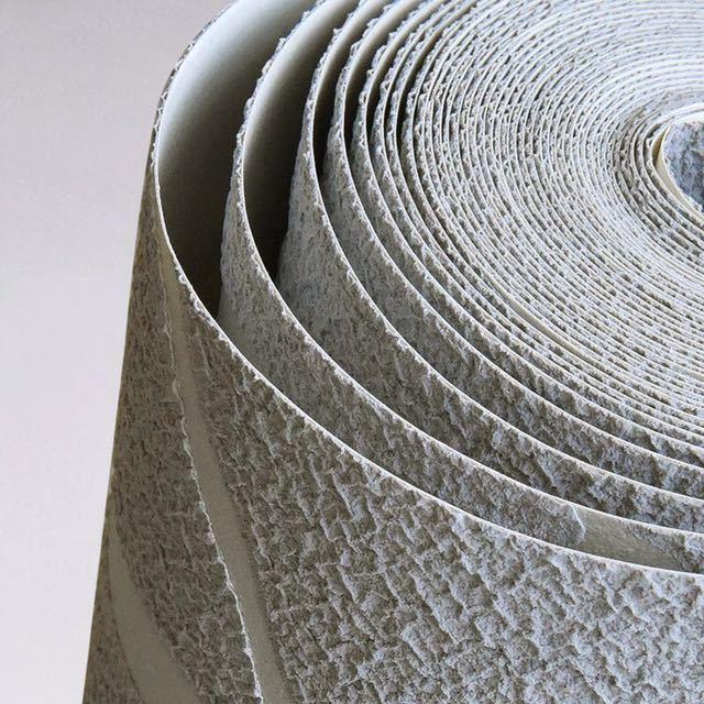 現代のミニマリストのファッション不織布壁紙ロール 3D エンボス加工支店ストライプ壁紙リビングルームのテレビのソファの背景壁_画像6