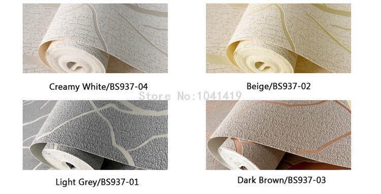 現代のミニマリストのファッション不織布壁紙ロール 3D エンボス加工支店ストライプ壁紙リビングルームのテレビのソファの背景壁_画像7