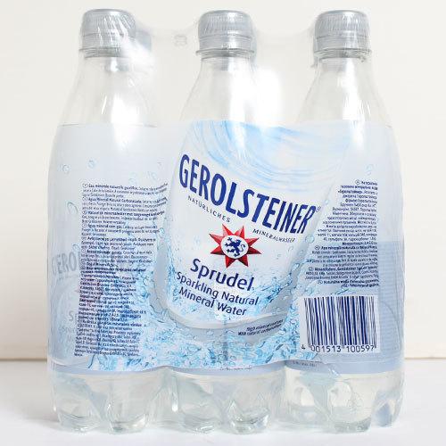 ●即決最安値挑戦ゲロルシュタイナーGEROLSTEINER[ペットボトル 炭酸水500mL×48本入 正規輸入品(2ケースを1まとめに1ケース48本に)◆_画像3