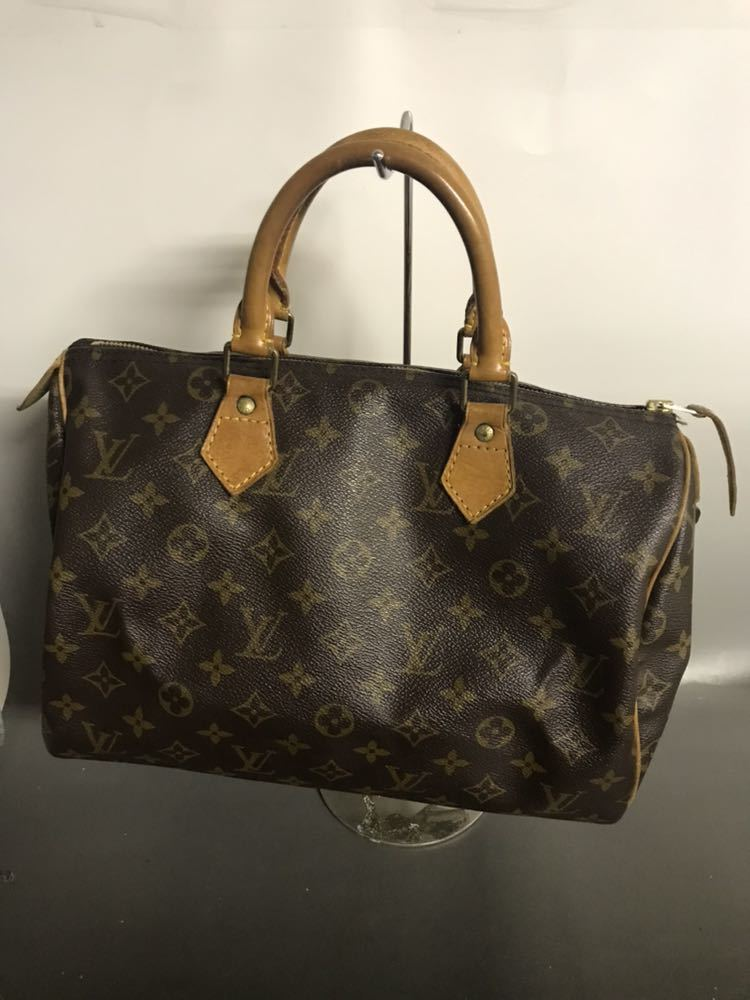 official photos 01b97 c0810 ルイヴィトン LOUIS VUITTON バッグ モノグラム ハンドバッグ スピーディ 30
