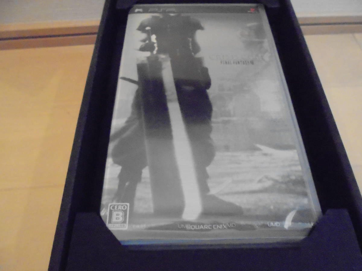 <送料無料> クライシス コア -ファイナルファンタジーVII- (FFVII 10th Anniversary Limited) PSP-2000ZS 本体 同梱版 新品未開封品 _画像2