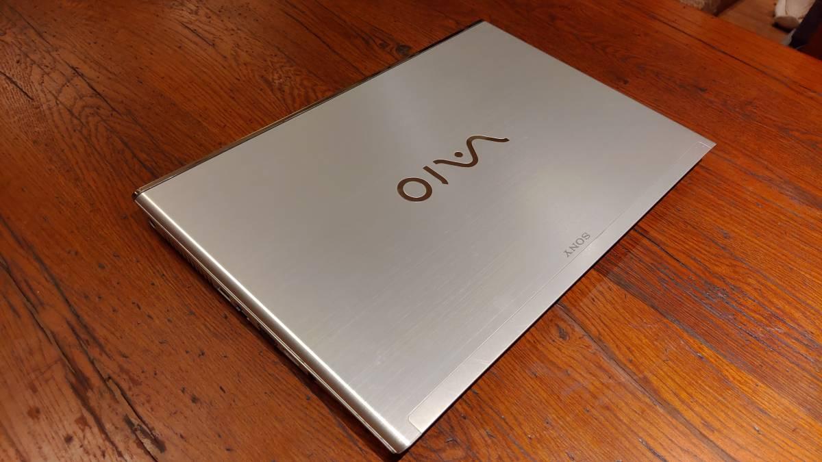 上位モデル 高速SSD タッチパネル フルHD SONY VAIO SVT15118CJS Core i7-3537U 8G 新SSD500GB+HDD750GB ブルーレイ office2019_画像5