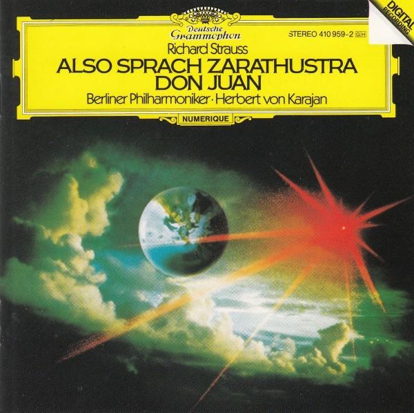 カラヤン&ベルリンフィル/R・シュトラウス:交響詩「ツァラトゥストラはこう語った」、交響詩「ドン・ファン」(西独盤)_画像1