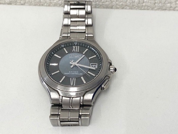 ★EXCEES CITIZEN Eco-Drive 動作品 シチズン エクシード H410-T003826
