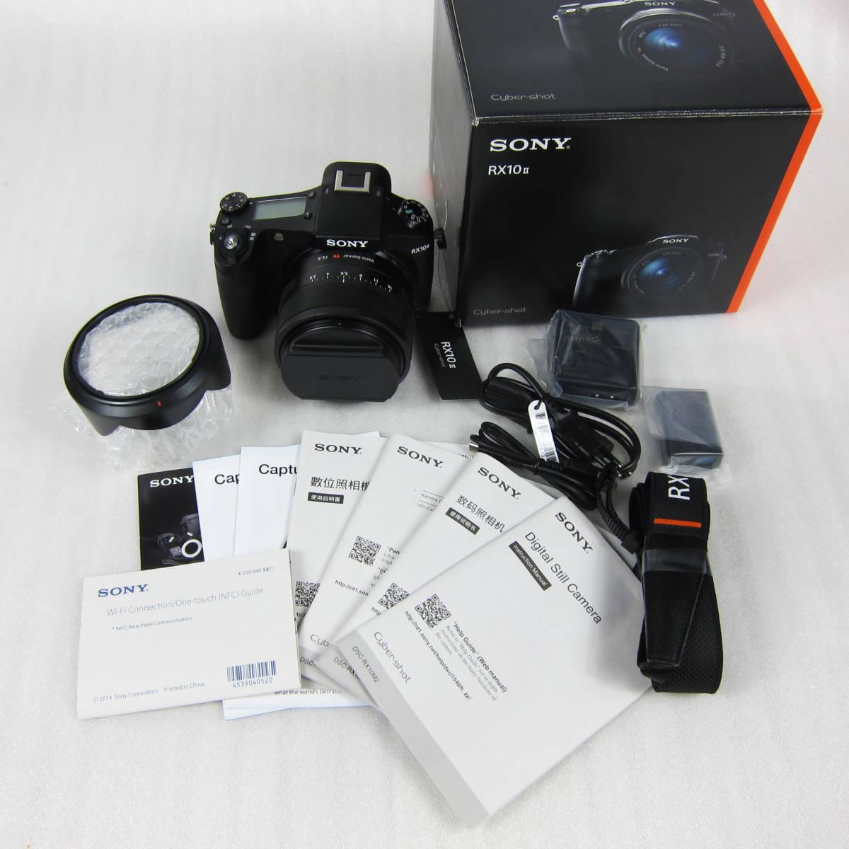 M4109●SONY ソニー デジタルスチルカメラ【海外仕様】Cyber-shot サイバーショット DSC-RX10M2 WiFi 4K 大口径ツァイス レンズ 未使用新品_1908O-56007