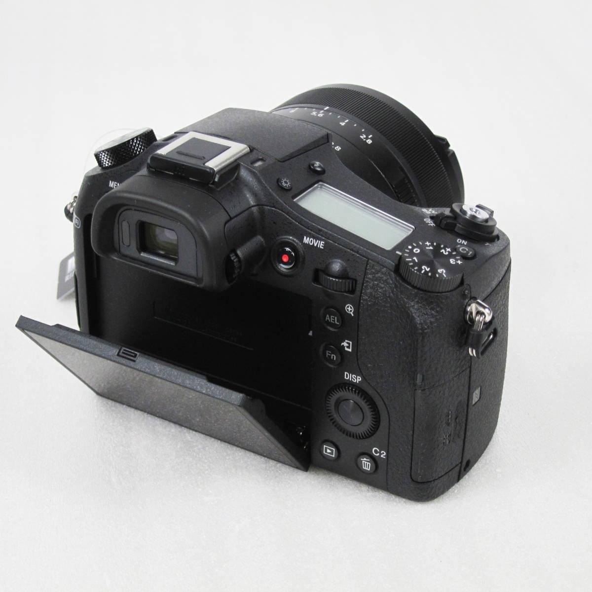 M4109●SONY ソニー デジタルスチルカメラ【海外仕様】Cyber-shot サイバーショット DSC-RX10M2 WiFi 4K 大口径ツァイス レンズ 未使用新品_画像5