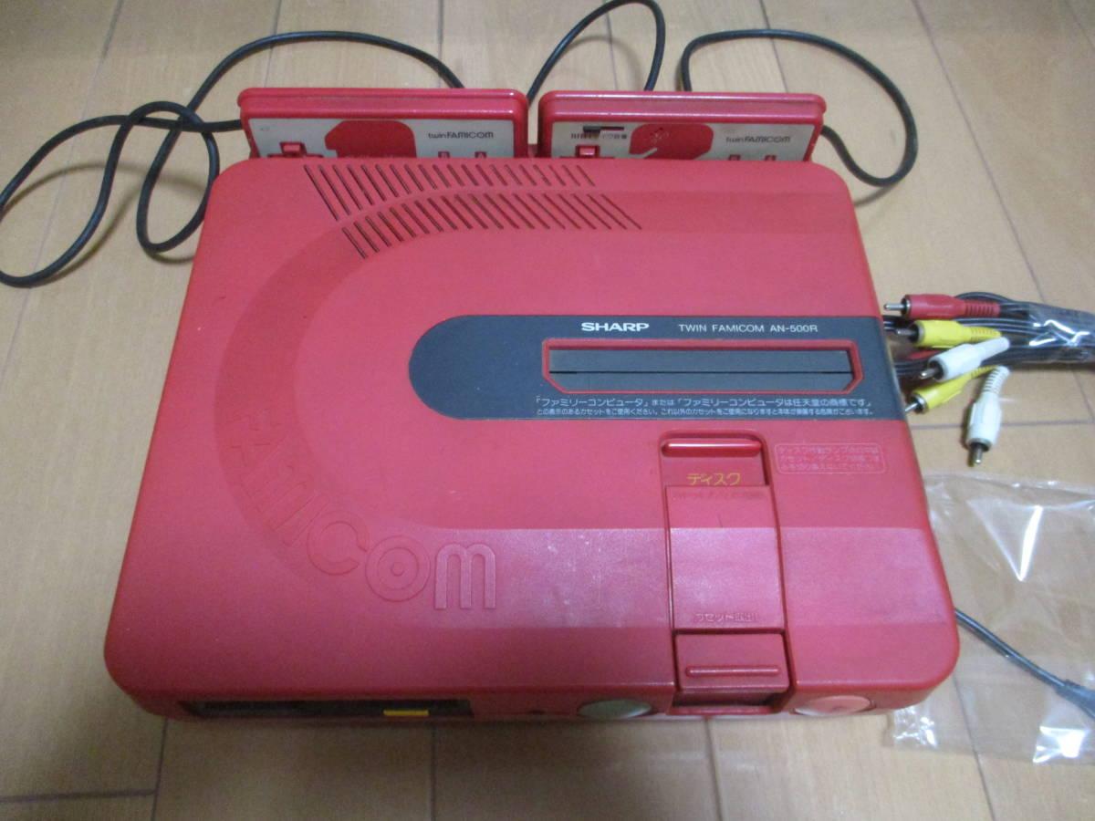 t1-1aku ツインファミコン 本体新品ベルト交換修理整備清掃済み AN-500R_画像2