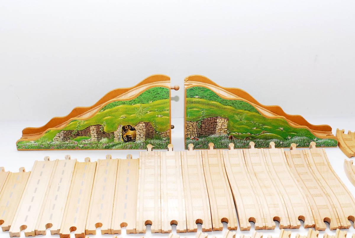 10000円~ 売りつくしセール 【全てラーニングカーブ製 大量132本】  トーマス木製レール  レールまとめ 同梱可能 #2836_画像2