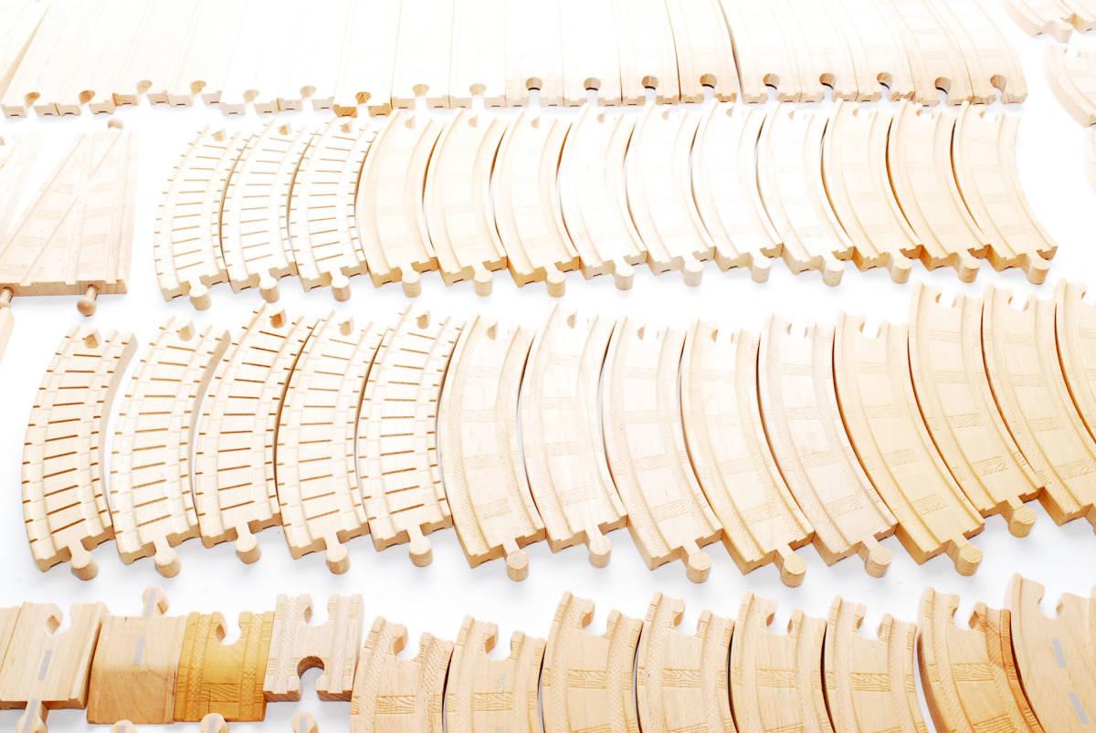 10000円~ 売りつくしセール 【全てラーニングカーブ製 大量132本】  トーマス木製レール  レールまとめ 同梱可能 #2836_画像5