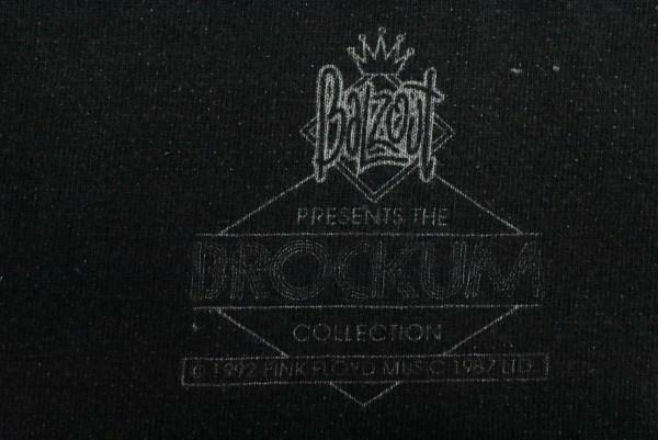 幻級 90'sUSA古着 BALZOUT PINK FLOYD ANIMALS ビンテージ Tシャツ sizeXL相当 黒 スケボー ピンクフロイド バンドT アメリカ BROCKUM_画像4
