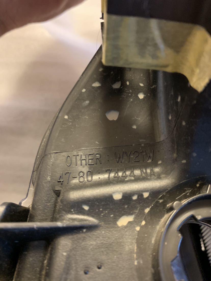 プリウス 左ヘッドライト ZVW50 51 55 前期 美品LED 送料無料 81185-47691 47-80_画像7