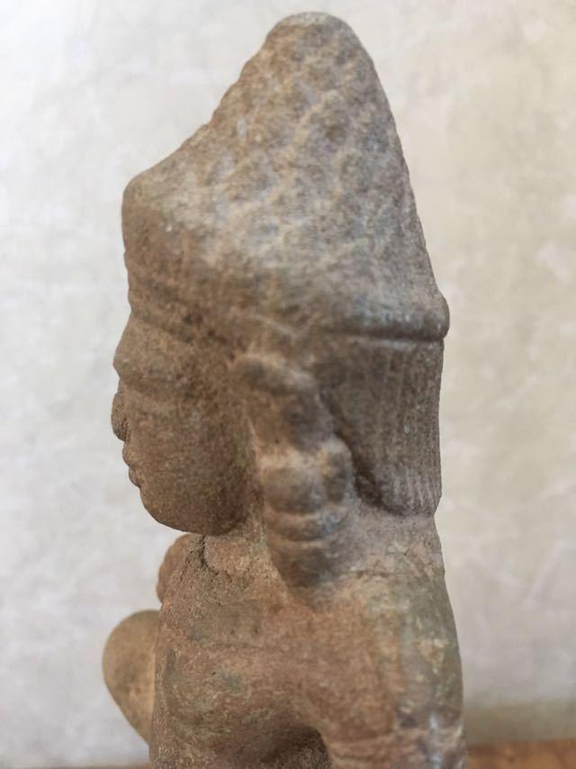 クメール バプーオン期石像_画像8