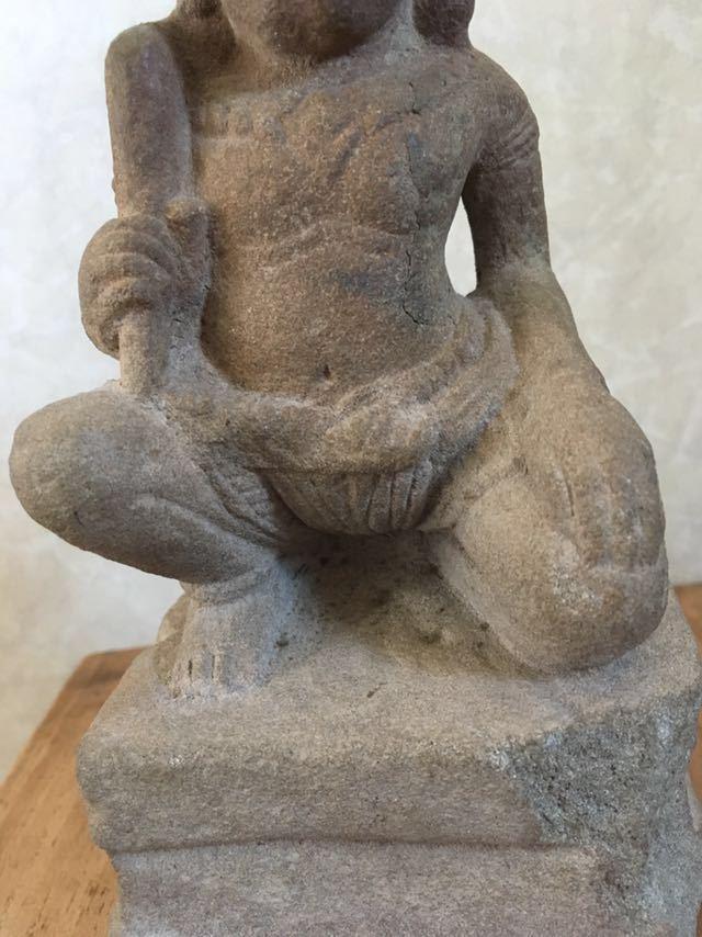 クメール バプーオン期石像_画像10