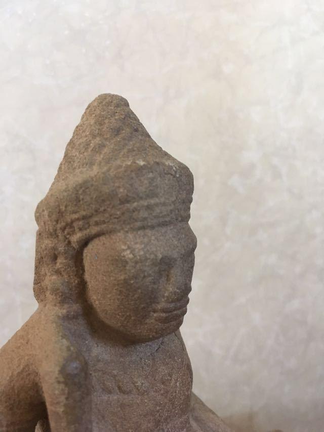クメール バプーオン期石像_画像4