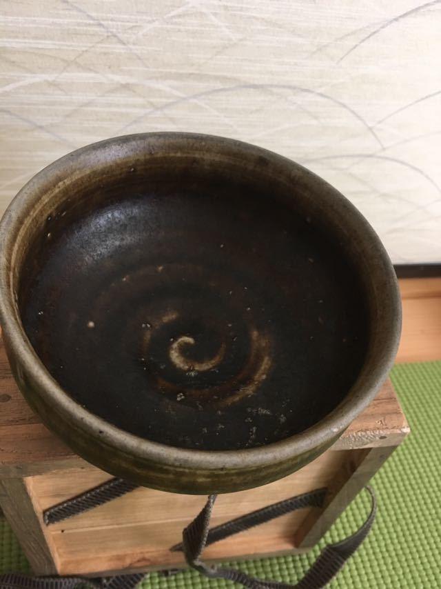 李朝 黒高麗茶碗_画像2