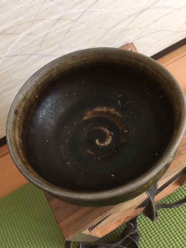 李朝 黒高麗茶碗_画像8