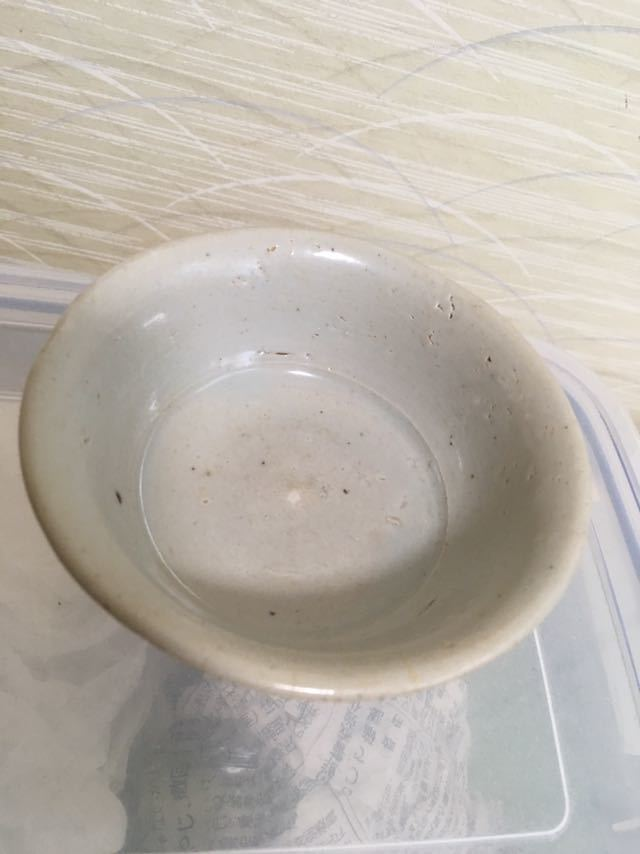 李朝初期 白磁茶碗_画像2