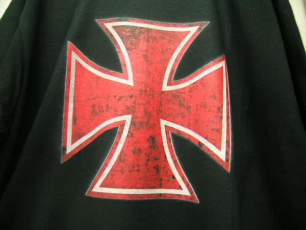*アイアンクロス Tシャツ ホットロッド ハーレー チョッパー 黒 ウエストコーストチョッパーズ ラットロッド カスタム kustom アメ車_画像3