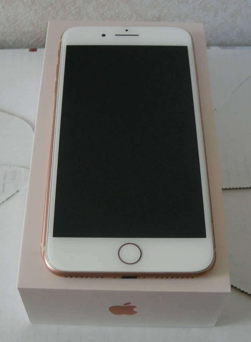 docomo iPhone8 Plus 64GB ゴールド simフリー化済 残積なし_画像2
