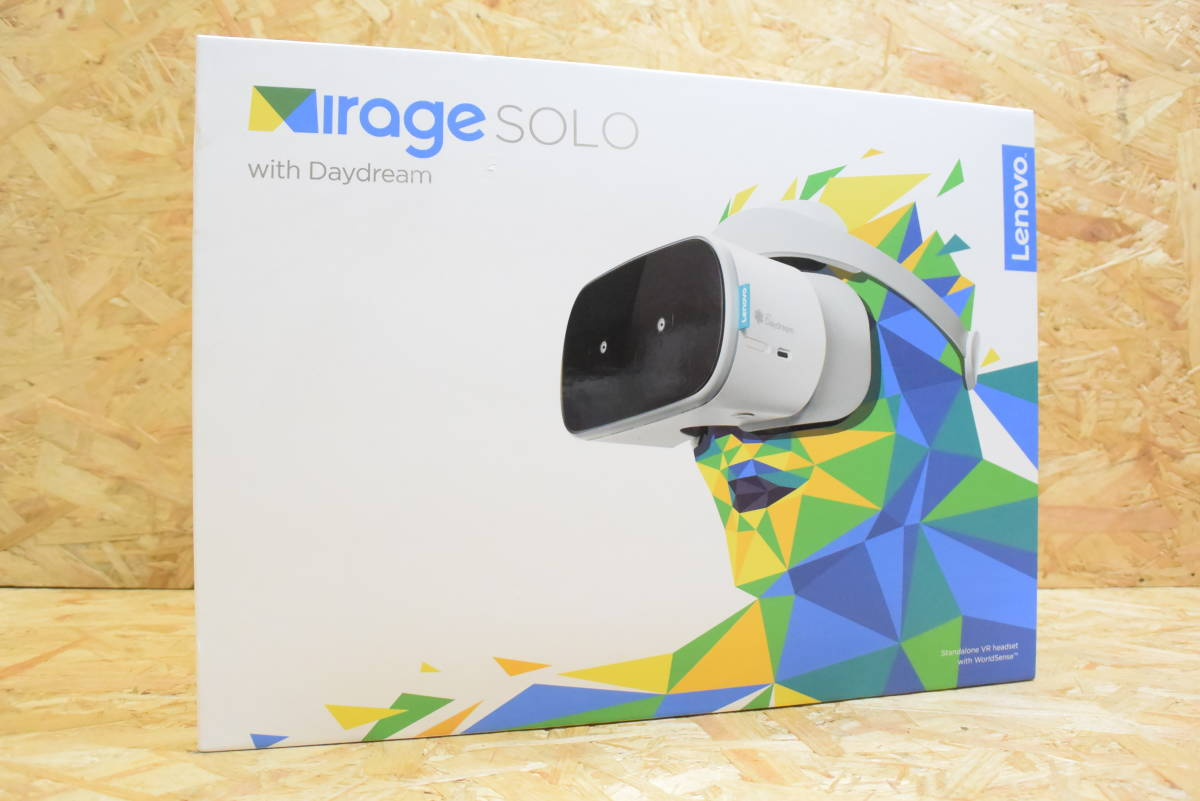 【美品】 Lenovo Mirage Solo with Daydream VR-1541F ムーンライトホワイト スタンドアローン