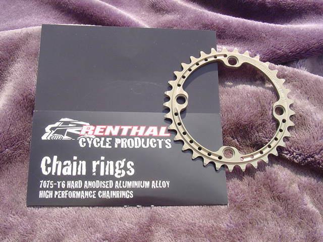 RENTHAL SR4 CHAIN RINGS 104BCD/33T 8/9/10s用 新品未使用 送料無料