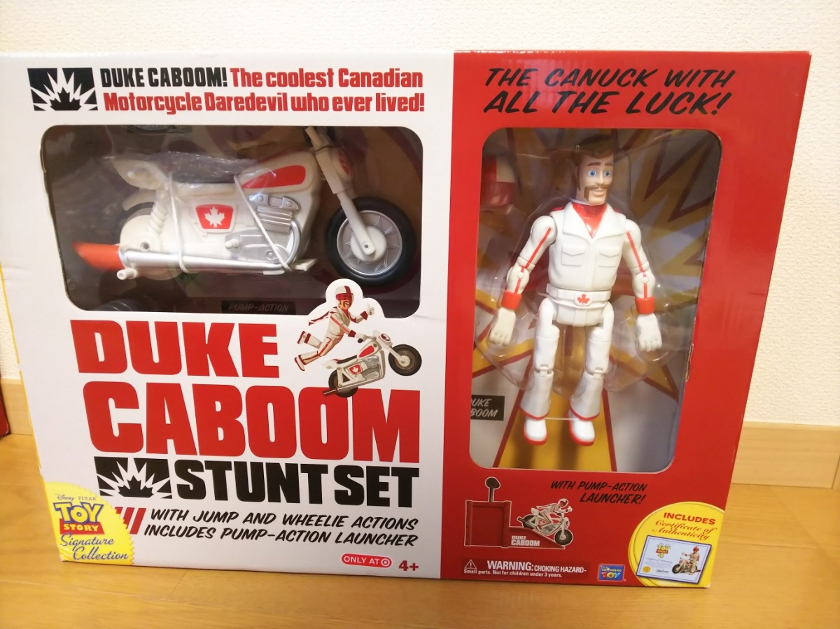シグネチャーコレクション デューク カブーン signature collection DUKE CABOOM トイストーリー4 ピクサー 日本未発売 レア Pixar バイク