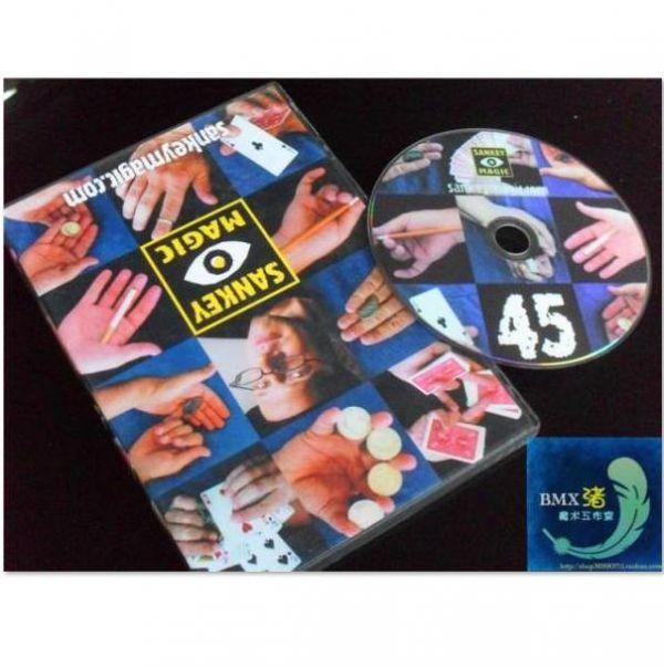 手品DVD 45種の手品 jay sankey カード&コイン レクチャー DVD講義 講義 マジック パーティ 講座 講義 レッスン 奇術_画像1