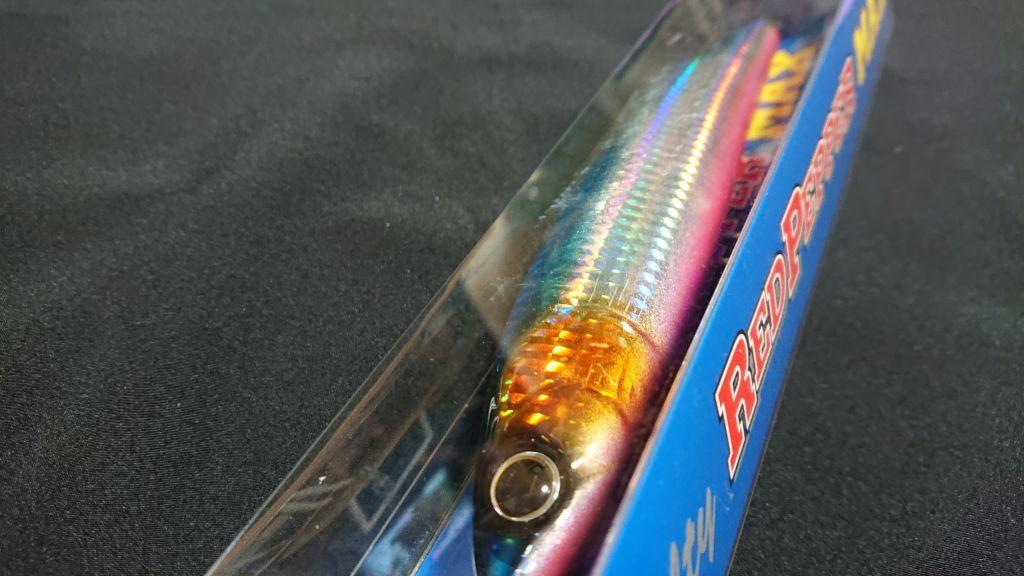 ティムコ ソルティ レッドペッパー マックス MAX 180mm 60g ヒラソーダ 新品 ヒラマサ ブリ 青物 マグロ シイラ カーペンター ガンマ γ_画像3