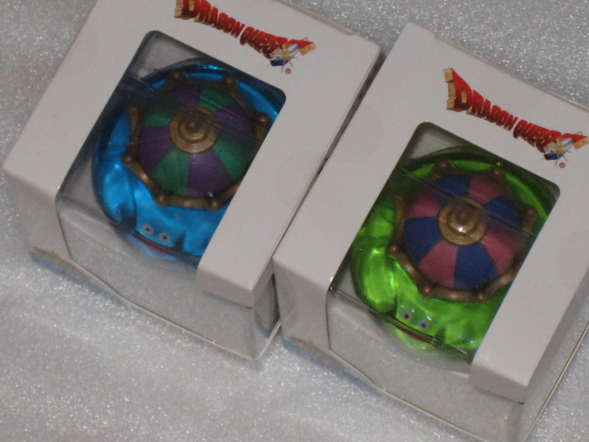 ドラゴンクエスト AM アミューズメント スライムキング スライムベホマズン ビッグクリアフィギュア 2種セット_画像2