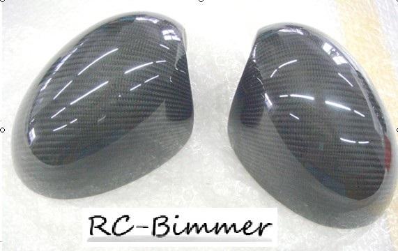 ●BMW ミニ 06~13年R55/R56/R57/R58/R59/R60/R61用リアルカーボンミラーカバーセット/ドアミラーカバー/サイドミラー/バックミラー/MINI_画像7