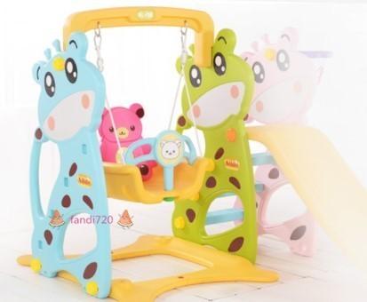 高級感溢れる★ベビー用滑り台 子供用スライド 室内すべり台 スイング 遊園地組み合わせ 1-6歳 室内遊具 子供用おもちゃ_画像2
