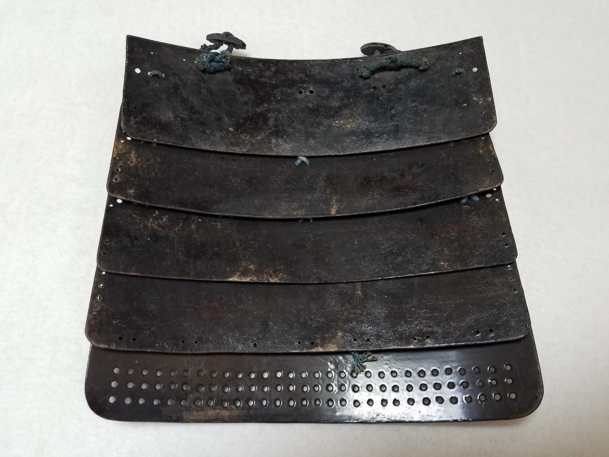■上級武士の袖■重い!■江戸時代■鎧兜、甲冑、武具、具足■962_画像4